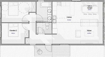 plan maison en container