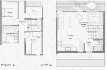 Mod les de maisons containers plans et options for Dessiner plan patio