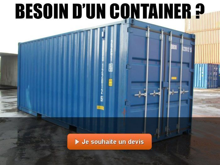 vente de containers maritimes maison container. Black Bedroom Furniture Sets. Home Design Ideas