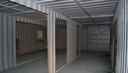 Lier et fixer les containers maritimes de votre maison for Amenagement interieur container