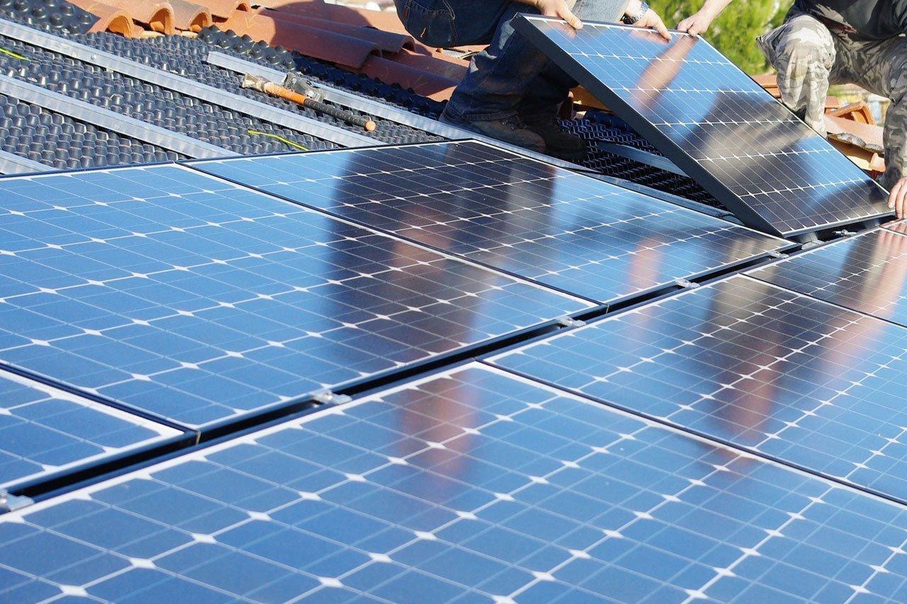 L'énergie photovoltaique d'une maison conteneur