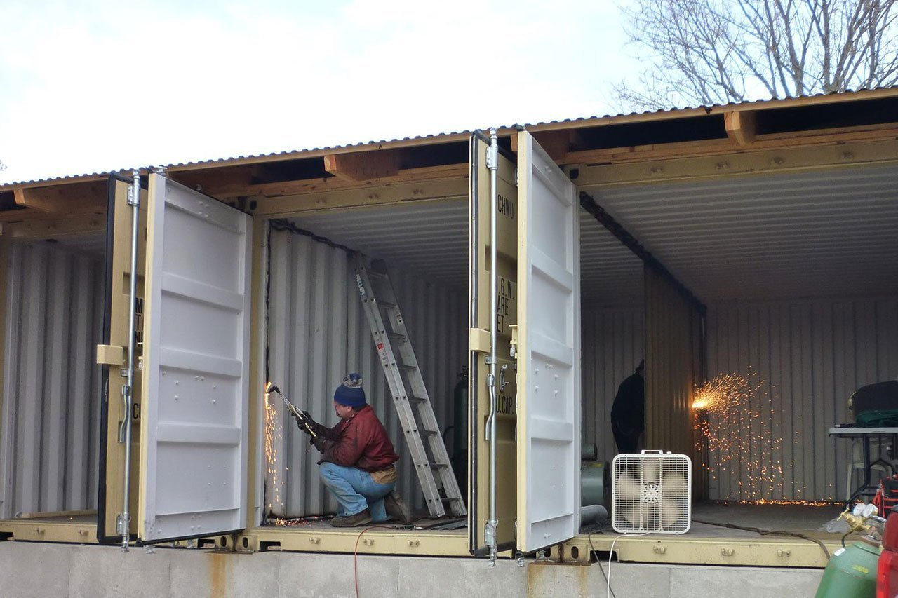 Quels containers choisir comment les fixer sur quel for Construction de maison container
