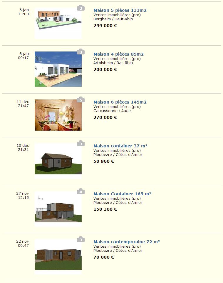 La mod lisation 3d des maisons containers maison container - Ma maison container ...