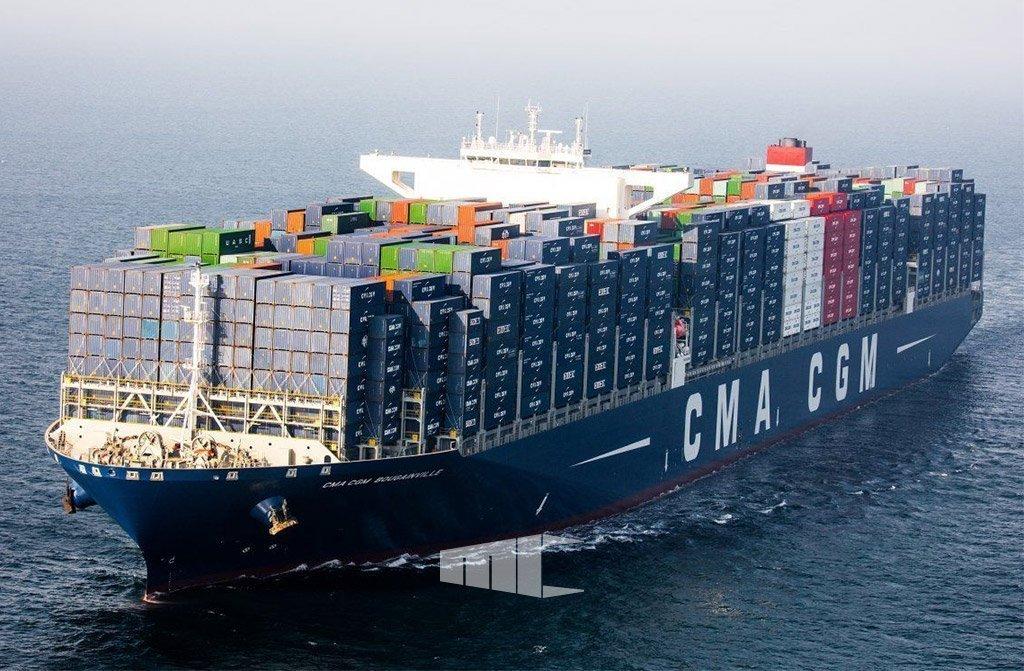 Bougainville le plus grand porte container fran ais for Container en francais