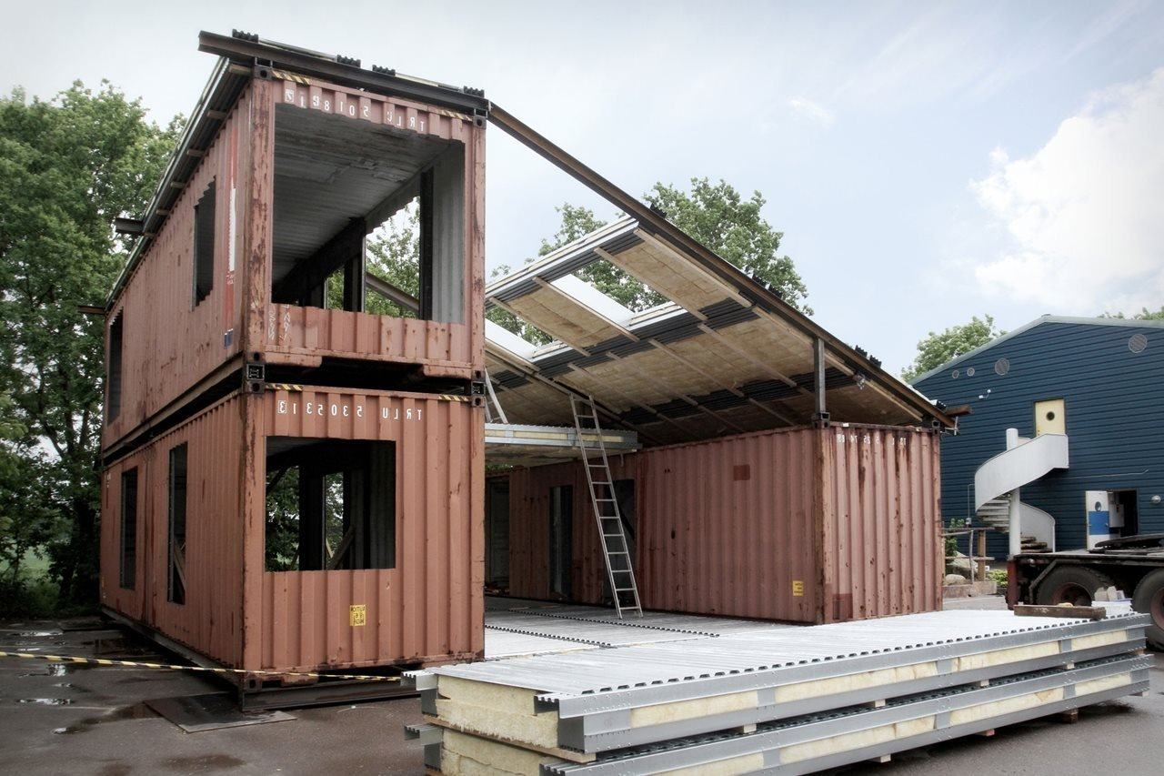 Construire sa maison container maison moderne for Photo maison contemporaine container