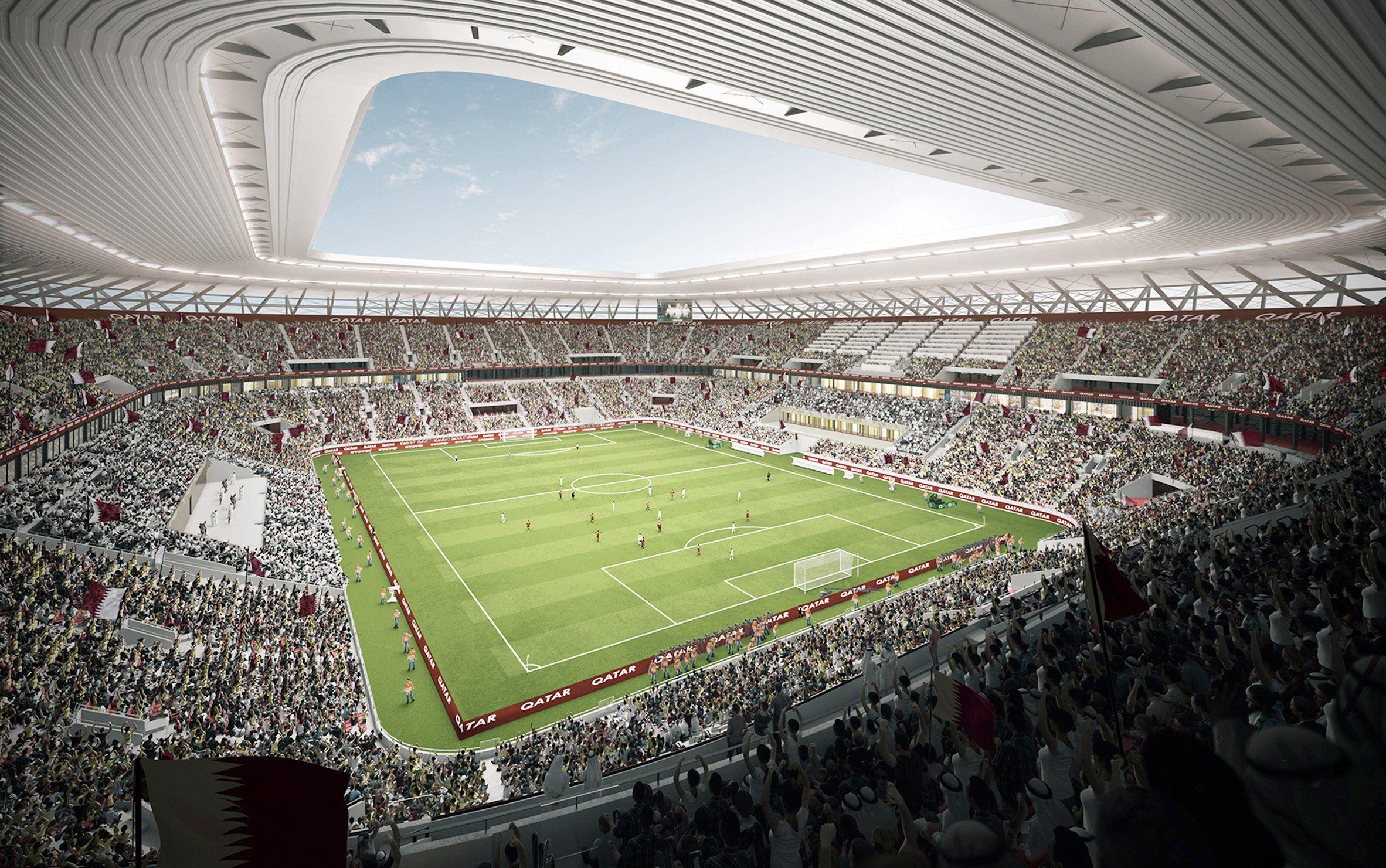 Un stade de conteneurs maritimes pour la coupe du monde for Maison du monde qatar