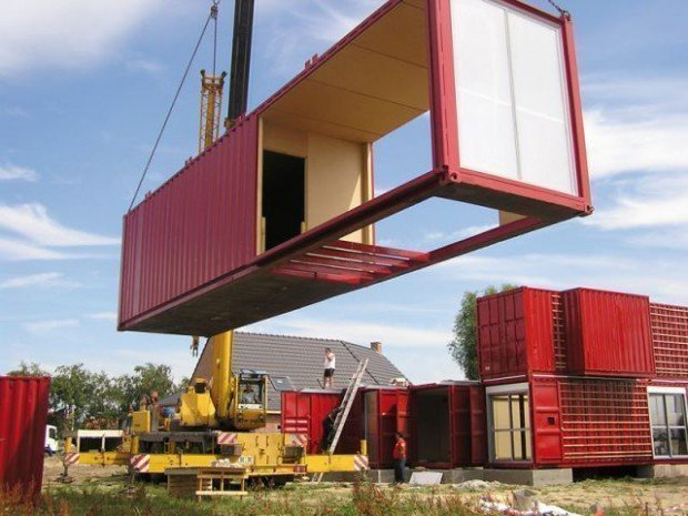 Pourquoi construire une maison en container - Construire sa maison container ...