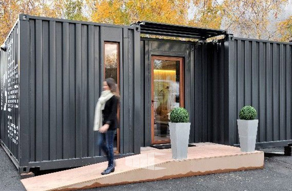 prix d une maison container construire une maison minimaliste la weehouse arado un design. Black Bedroom Furniture Sets. Home Design Ideas