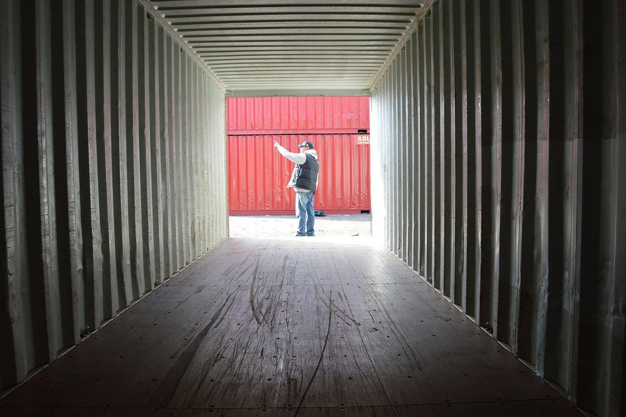 Spécificité d'une maison container